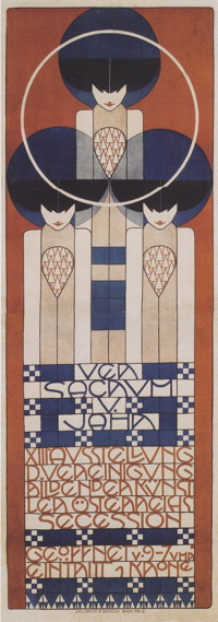 Ausstellung poster-for-the-xiii-secession-1902