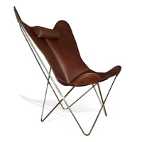 Nice to know WEINBAUM_PREMIUM_XXL_LARGE_BKF_Hardoy_Butterfly_Chair_Kaffee_dunkelbraun_dark_brown_coffee_Hocker_2_