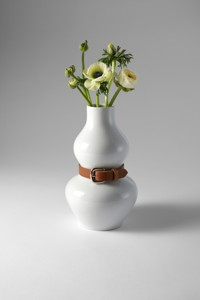 Produkte ALBA Vase in Weiß, Design House Stockholm